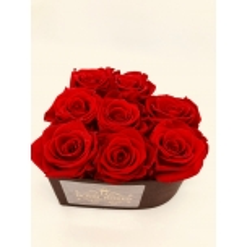 8-roosiga südamekujuline karp