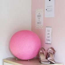 "Laualamp/laelamp ""Soft pink/ roosa"""
