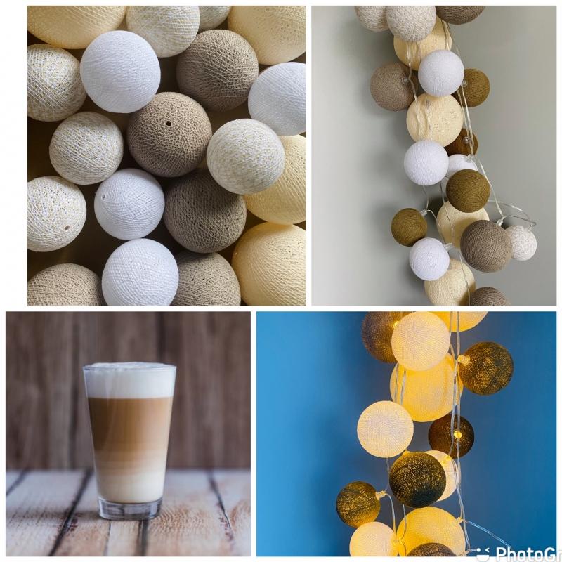 """UUS! Imelised haldjapallid """"Cafe Latte"""""""