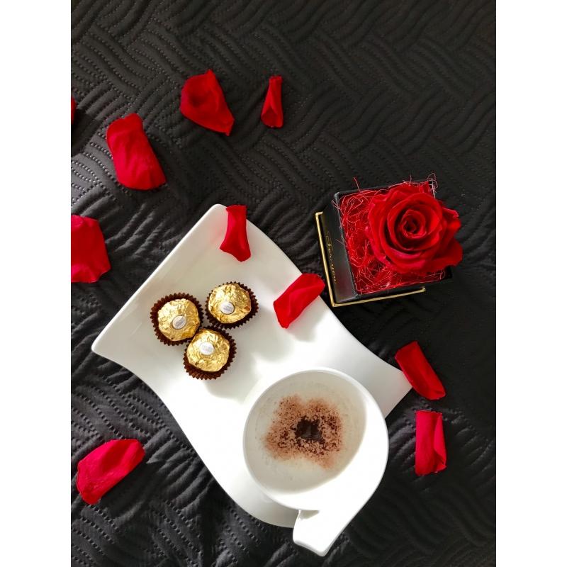 1-roosiga madal karp