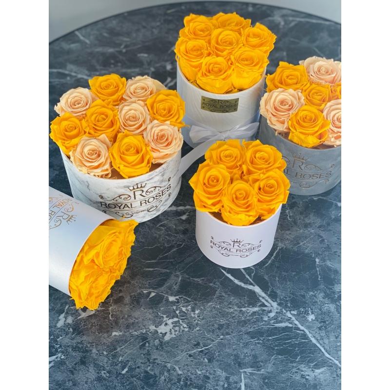 7-uinuva kollase roosiga karp
