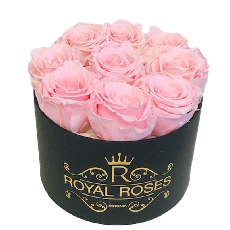 9-roosa roosiga karp