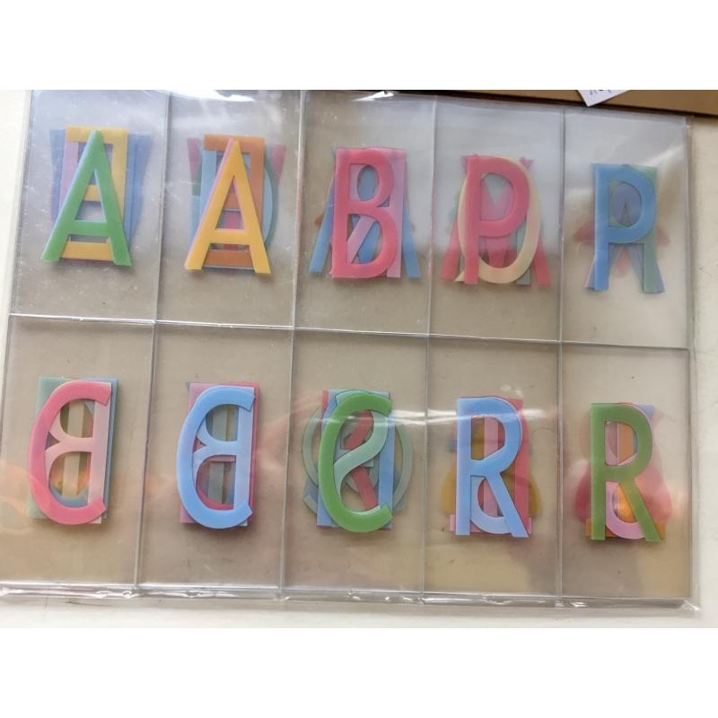 Lightboxi pastelsed tähed/emotikonid (sobivad A3, A4 ja A5 suuruses lightboxile)