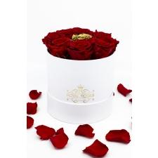 9-roosiga lillekarp, erinevad toonid