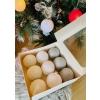 Jõulu haldjapallid 9-ne komplekt (valge+hõbe))